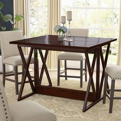 Bolger Counter Height Poplar Dining Table In 2020 Extendable Dining Table Dining Table In Kitchen Folding Dining Table