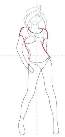 Como Dibujar Un Vestido Paso 1 Como Dibujar Vestidos Como Aprender A Dibujar Aprender A Dibujar