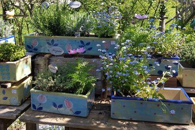 Bliumenkasten Pflanzgefasse Planen Gartenkeramik
