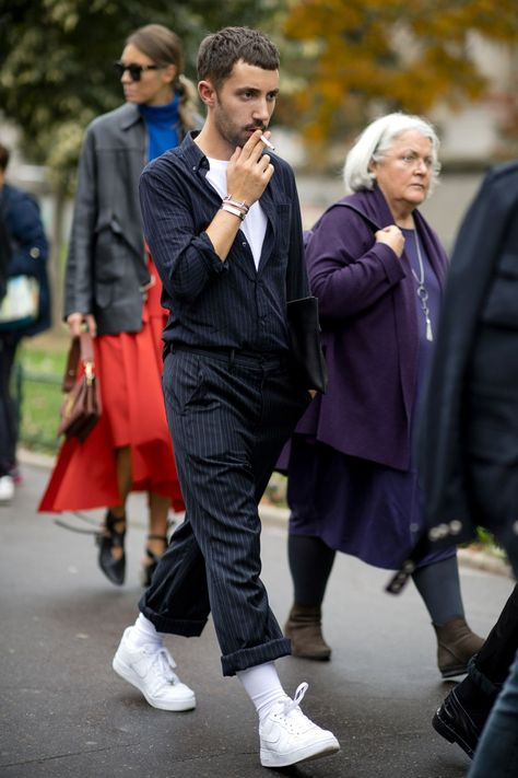 Paris Women's Fashion Week SS18: the strongest street style   British GQ