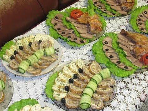 Красивые салаты на праздничный стол фото