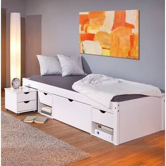 Captain Single Bed Frame With Drawers Bed Frame With Drawers
