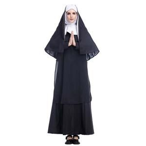 Men/'s Fancy Dress Male Nun Costume Novelty Stag Do Night Outfit One Size