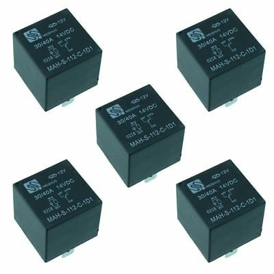 Ad Ebay 5x 12v Automotive Changeover Relay W Diode 40a 5 Pin Spdt Auto In 2020 Electrical Equipment Ebay Ads
