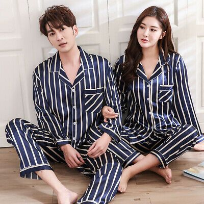 Gift for young Adult Men/'s Pajama Set His/&Her Pajama sets Two piece Pajama set Pajama sets for couples,couple sleep ware Gift for him