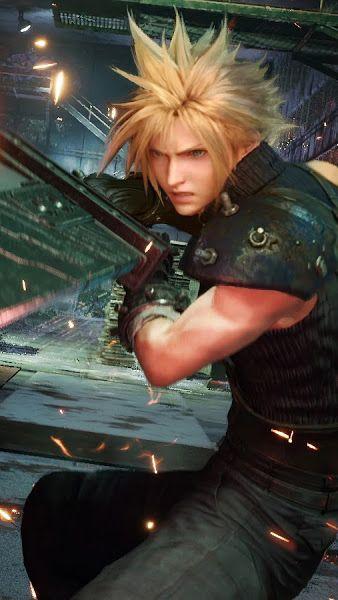 Cloud Strife Sword Final Fantasy 7 Remake 4k 3840x2160