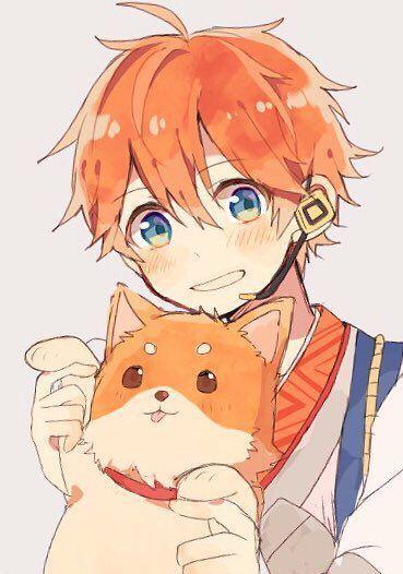 Strawberry Blond Blue Eyes Anime Boy Blonde Anime Boy Anime Orange Anime Boy Hair