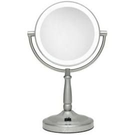 Zadro Next Generation 10x 1x Cordless Led Lighted Vanity Mirror