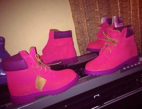 purple timberland boots Google Search | shoes | Purple