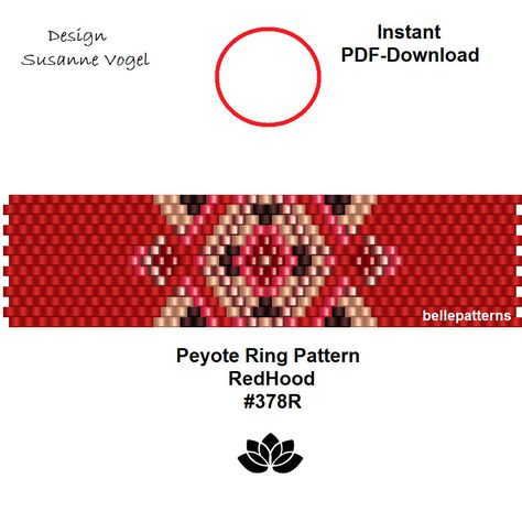 Design Patterns By Tutorials Pdf: peyote ring patternPDF-Download #378R beading pattern beading rh:pinterest.com.au,Design