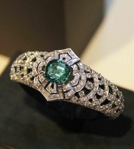 Exclusiver Smaragd 925 Sterling Silber Damen Ring Silberring Damen Granat Armband Smaragdschmuck