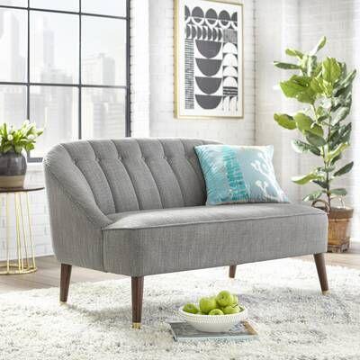 Adley Mid Century Sofa Carton