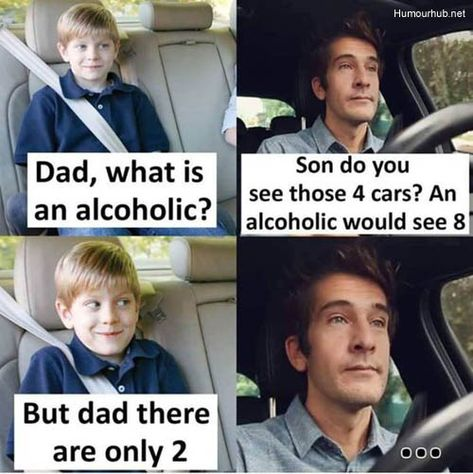 Dad, What Is An Alcoholic?…