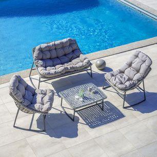 Loungegarnitur Cathy 7 Teilig Online Kaufen Momax Polyrattan Sitzgruppe Sitzgruppe Lounge Garnitur