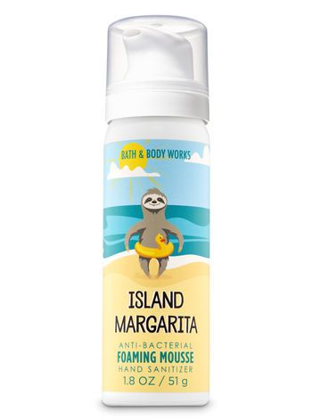 Island Margarita Foaming Hand Sanitizer Bath Body Works Hand