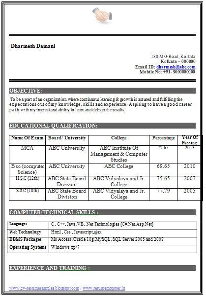 purushottam kumar (pksaini54) on Pinterest - mechanical engineering resume template