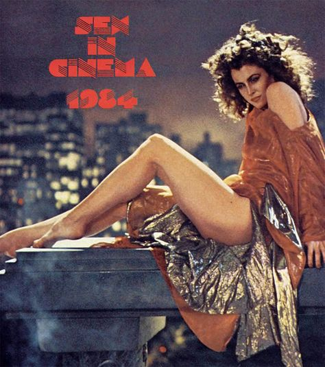 "Sigourney Weaver, ""Ghostbusters"", 1984."