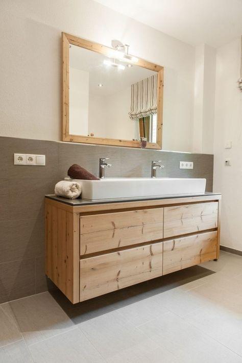 Badunterschrank Konkrete Architektur Hintergrund Designschrank Bad M0796