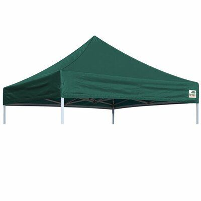 Eurmax Commercial Pop Up Replacement Canopy Color Forest Green In 2020 Gazebo Tent Replacement Canopy Pop Up Canopy Tent