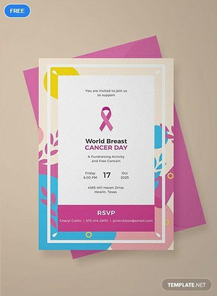 Free Sample Fundraising Invitation Invitation Template Event