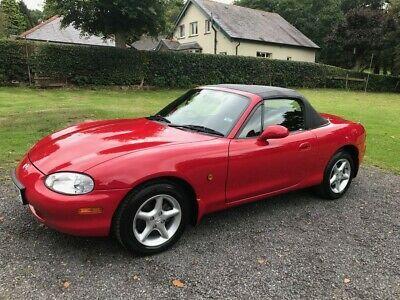 Ebay 1998 S Mazda Mx5 Mk2 Convertible In Classic Red Just 4 987 Miles Mazda Mx5 Mx5 Mazda