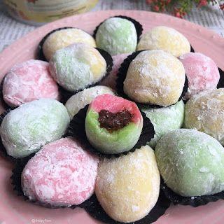 Mochi Isi Coklat By Shirleyliem Bahan Kulit 125gr Tepung Ketan 135ml Air Putih 1 2sdt Garam 60gr Gula Ka Snack Cake Delicious Cake Recipes Asian Desserts
