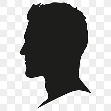 Male Silhouette Head Vector Png Free Male Silhouette Head Person Head Male Silhouette Profile Png And Vector With Transparent Background For Free Download Silhouette Head Silhouette Man Silhouette Portrait