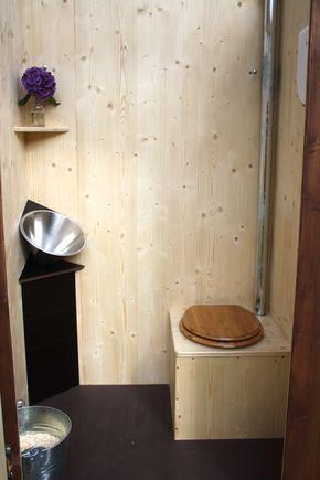 Die Gut Aussehende Benutzerfreundliche Und Okologische Kompost Toilette Kurzum Okoje Innenansicht Inklusive Pissio Komposttoilette Gartentoilette Toiletten