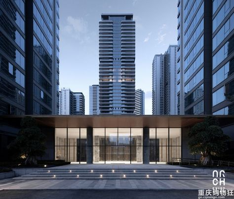 270 Apartment 高层住宅 Ideas In 2021 Architecture Residential Building Facade Architecture