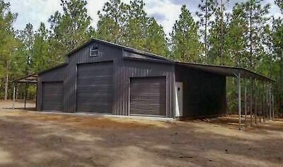 Details About Metal Building Steel Pole Barn Kit Prefab 5 Car