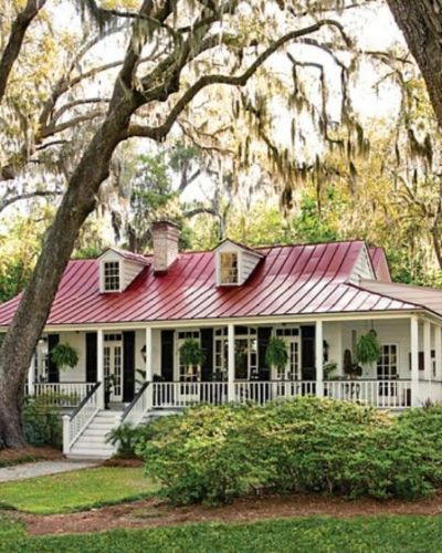 Low Country House Plan Carolina Low Country Homes Country House Decor Country Style Homes