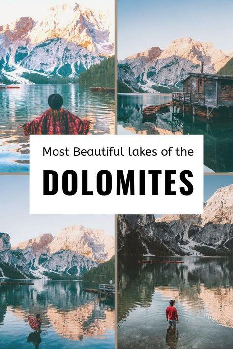 The most beautiful lakes of Dolomites (Lago di Braies, Sorapis Lake)   Het is de Merckx