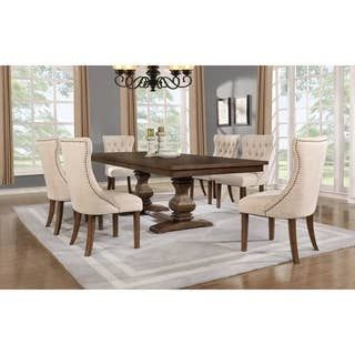 Overstock Com Online Shopping Bedding Furniture Electronics Jewelry Clothing More In 2021 Rustic Farmhouse Dining Table Dining Room Table Dining Chairs