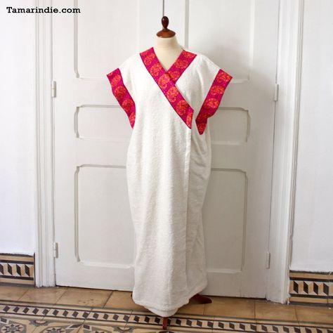 Pink Cashmere Towel Wrap Towel Robe Cashmere Abaya Fashion