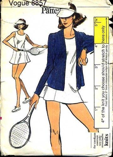 tennis dress + cardigan | sport | Pinterest
