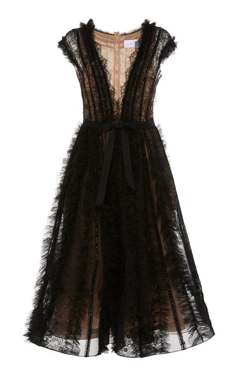 Get inspired and discover Marchesa trunkshow! Shop the latest Marchesa collection at Moda Operandi. Marchesa, Pretty Dresses, Beautiful Dresses, Georgina Chapman, Full Skirts, Black Cocktail Dress, Cocktail Dresses, Party Dresses For Women, The Dress