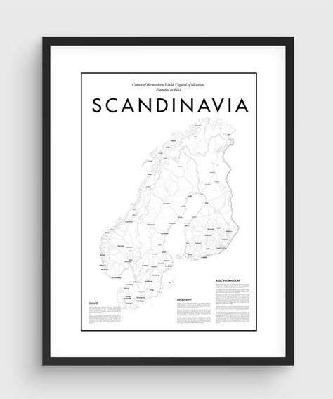 photograph relating to Scandinavia Map Printable named Pinterest