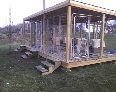 Ukc Forums More Above Ground Kennel Pics Please Dog Kennel Flooring Dog Kennel Designs Diy Dog Kennel