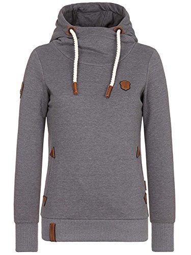 Naketano Hooded Sweater slate gray
