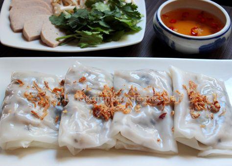 Banh Cuôn Raviolis vietnamiens de La Kitchenette de Miss Tâm