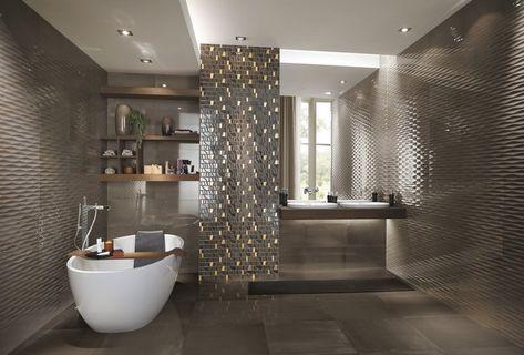 Edle Wandfliesen Fur Ein Luxus Bad Furdoszoba Bathroom Modern