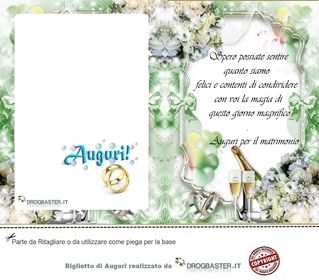 Foto Biglietti Cartoline Auguri Per Matrimoni Nel 2020 Biglietto Di Matrimonio Matrimonio Nozze