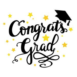 The Sky/'s the Limit Graduation Congratulations Card Cute Hand Lettered Calligraphy Illustration