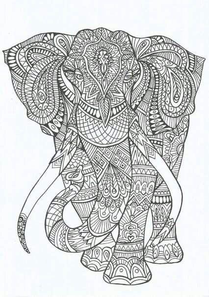 Fil Boyama Doğada Yaşam раскраски слоны Ve рисунки