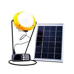 Power Bank Solar Light With 5 5w Solar Panel Solar Lights Solar Led Lights Indoor Solar Lights