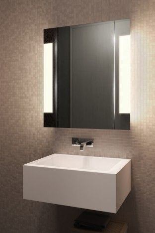 Halo Led Bathroom Demister Cabinet Bathroom Mirror Cabinet