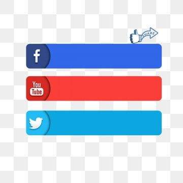 Social Media 3d Icon Facebook Youtube Twitter Label Icon Facebook Icons Youtube Icons Twitter Icons Png Transparent Clipart Image And Psd File For Free Downl Youtube Logo Facebook And Instagram Logo