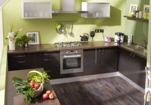 Meuble Cuisine Vert Anis Meuble Cuisine Vert Pomme Ajouter With