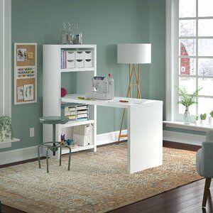 Kathy Ireland Office By Bush Echo Sewing Table Wayfair