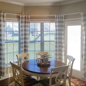 Melissa G Added A Photo Of Their Purchase Dining Room Window Treatments Dining Room Windows Dining Room Curtains